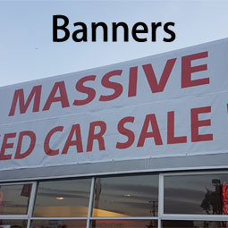 custom size banners for all marketing