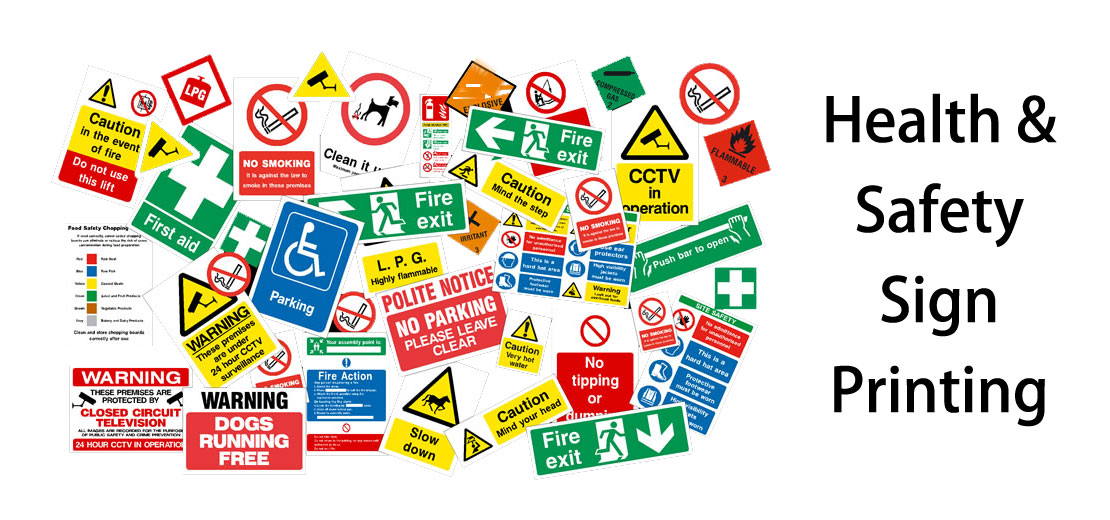 Health Safety SIte Signs
