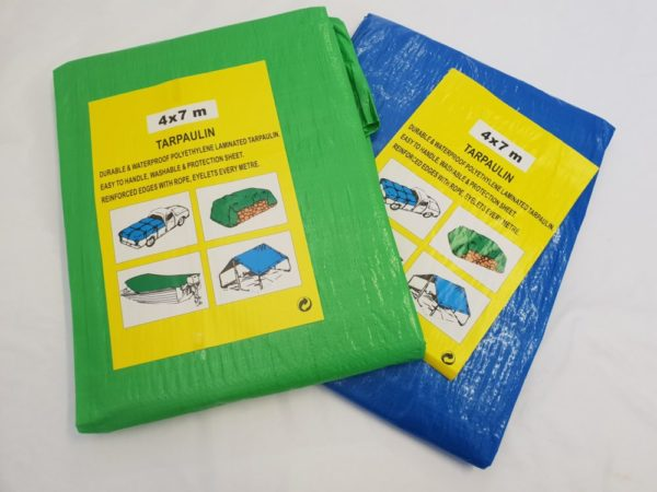 Lightweight tarpaulin for all purposes